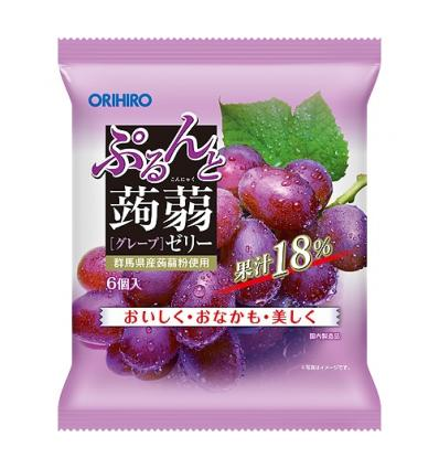 Konnyaku Grape Jelly