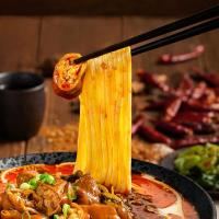 RAMEN TALK Sichuan Pork Intestines Ramen