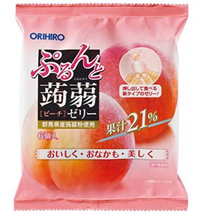 Konnyaku Peach Jelly